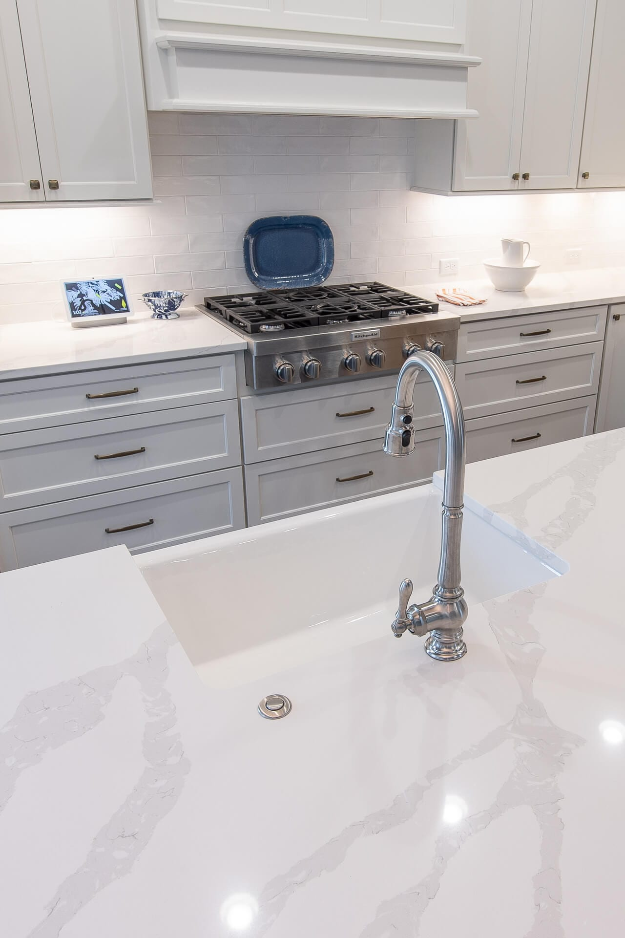 Gallery 11 of a Kitchen Remodel by Magnolia Countertops. A Countertop fabricator of Granite Countertops, Marble Countertops, and Quartz Countertops in Cookeville and Crossville TN.
